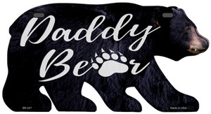 Daddy Paw Wholesale Novelty Metal Bear Tag BR-047