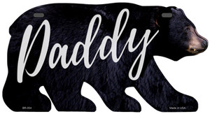 Daddy Wholesale Novelty Metal Bear Tag BR-054