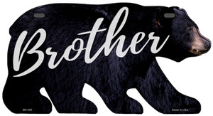 Brother Wholesale Novelty Metal Bear Tag BR-056