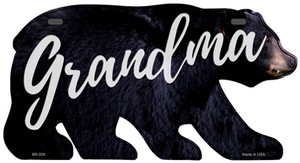 Grandma Wholesale Novelty Metal Bear Tag BR-058