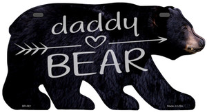 Daddy Arrow Wholesale Novelty Metal Bear Tag BR-061