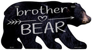Brother Arrow Wholesale Novelty Metal Bear Tag BR-063
