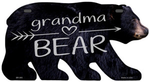 Grandma Arrow Wholesale Novelty Metal Bear Tag BR-065
