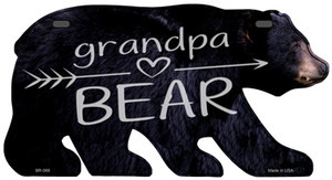 Grandpa Arrow Wholesale Novelty Metal Bear Tag BR-066