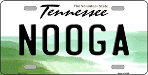 Nooga Tennessee Wholesale Novelty Metal License Plate Tag LP-13783