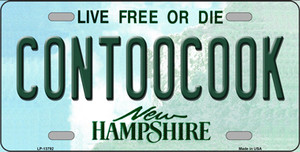 Contoocook New Hampshire Wholesale Novelty Metal License Plate Tag LP-13792