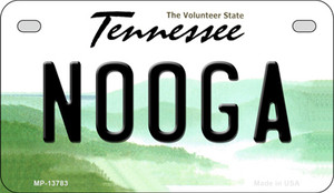 Nooga Tennessee Wholesale Novelty Metal Motorcycle Plate MP-13783