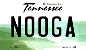 Nooga Tennessee Wholesale Novelty Metal Magnet M-13783