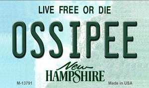 Ossipee New Hampshire Wholesale Novelty Metal Magnet M-13791