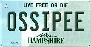 Ossipee New Hampshire Wholesale Novelty Metal Key Chain KC-13791