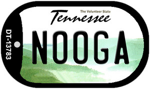 Nooga Tennessee Wholesale Novelty Metal Dog Tag Necklace DT-13783