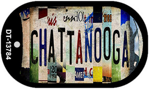 Chattanooga Strip Art Wholesale Novelty Metal Dog Tag Necklace DT-13784