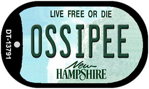 Ossipee New Hampshire Wholesale Novelty Metal Dog Tag Necklace DT-13791