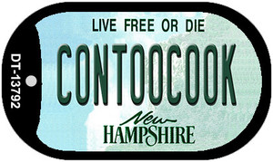Contoocook New Hampshire Wholesale Novelty Metal Dog Tag Necklace DT-13792