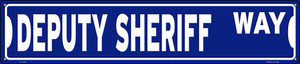 Deputy Sheriff Way Wholesale Novelty Metal Street Sign ST-1621