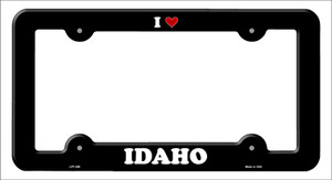Love Idaho Wholesale Novelty Metal License Plate Frame