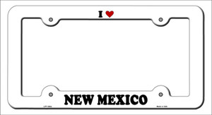 Love New Mexico Wholesale Novelty Metal License Plate Frame