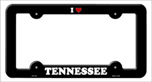 Love Tennessee Wholesale Novelty Metal License Plate Frame