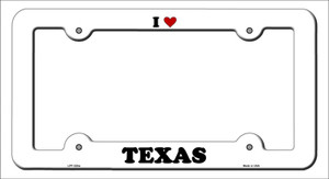 Love Texas Wholesale Novelty Metal License Plate Frame