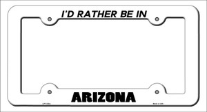 Be In Arizona Wholesale Novelty Metal License Plate Frame