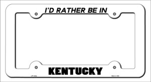 Be In Kentucky Wholesale Novelty Metal License Plate Frame