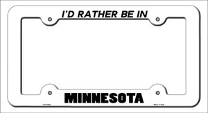 Be In Minnesota Wholesale Novelty Metal License Plate Frame