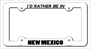 Be In New Mexico Wholesale Novelty Metal License Plate Frame