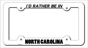 Be In North Carolina Wholesale Novelty Metal License Plate Frame