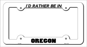 Be In Oregon Wholesale Novelty Metal License Plate Frame