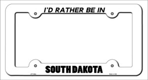 Be In South Dakota Wholesale Novelty Metal License Plate Frame
