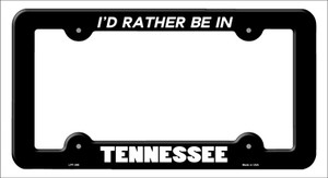 Be In Tennessee Wholesale Novelty Metal License Plate Frame