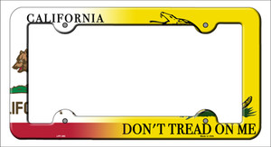 California|Dont Tread Wholesale Novelty Metal License Plate Frame