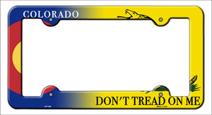 Colorado|Dont Tread Wholesale Novelty Metal License Plate Frame