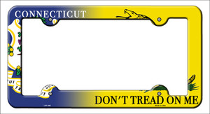 Connecticut|Dont Tread Wholesale Novelty Metal License Plate Frame
