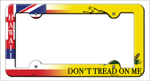 Hawaii|Dont Tread Wholesale Novelty Metal License Plate Frame