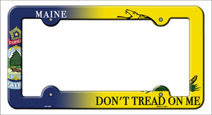 Maine|Dont Tread Wholesale Novelty Metal License Plate Frame