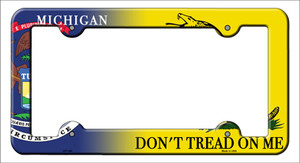 Michigan|Dont Tread Wholesale Novelty Metal License Plate Frame