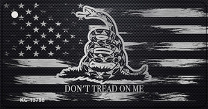 Dont Tread On Me Distressed Flag Wholesale Novelty Metal Key Chain