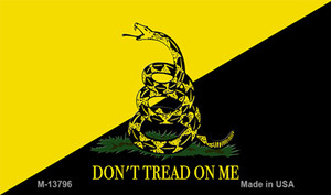 Dont Tread On Me Yellow|Black Wholesale Novelty Metal Magnet