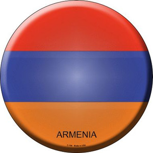 Armenia Country Wholesale Novelty Metal Circular Sign