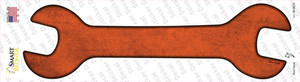 Orange Oil Rubbed Wholesale Novelty Wrench Sticker Decal