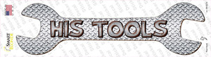 His Tools Wholesale Novelty Wrench Sticker Decal