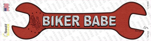 Biker Babe Wholesale Novelty Wrench Sticker Decal