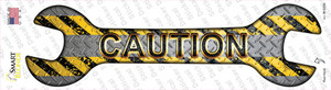 Caution Wholesale Novelty Wrench Sticker Decal