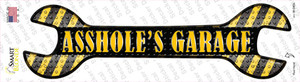 Assholes Garage Wholesale Novelty Wrench Sticker Decal