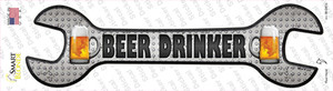 Beer Drinker Wholesale Novelty Wrench Sticker Decal