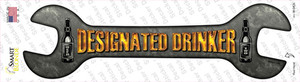 Designated Drinker Wholesale Novelty Wrench Sticker Decal