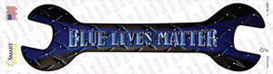 Blue Lives Matter Wholesale Novelty Wrench Sticker Decal
