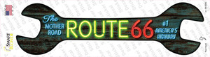 Neon Route 66 Wholesale Novelty Wrench Sticker Decal
