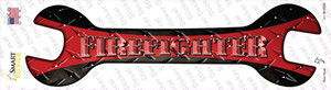 Firefighter Wholesale Novelty Wrench Sticker Decal